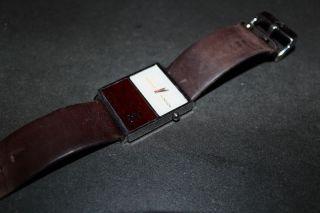 Nixon Chalet Uhr Leder Braun Armbanduhr Bild