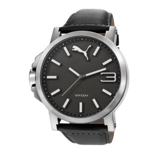 Puma Pu103461001 Ultrasize Leather Silver Black Bild
