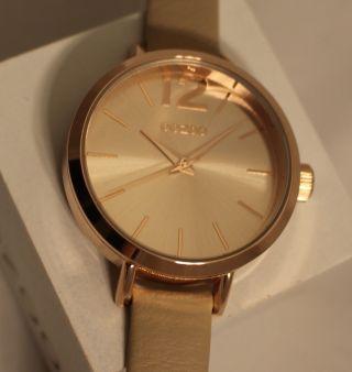 Oozoo Uhr Armbanduhr Lederband Designuhr - C6980 - Ø Ca.  35 Mm - Sand Rose Bild