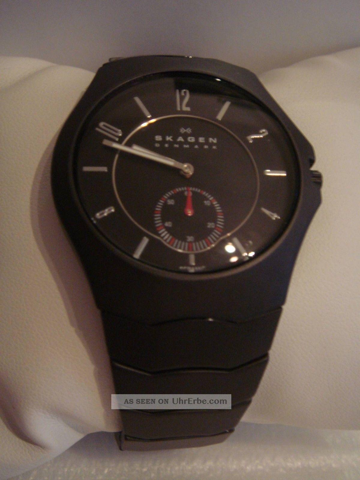 Skagen Slimline Ceramic 815 Lbxc Armbanduhren Bild