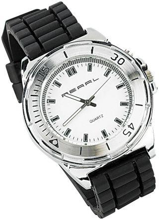 Pearl Quarz - Armbanduhr Mit Zauberhaftem Led - Farbspiel Bild