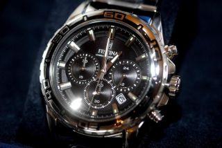 Festina Uhr - Watch - Chronograph Und Ovp.  Mod F.  37 - Bild
