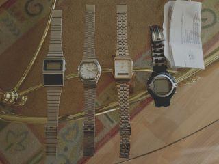 Uhren Konvolut/4er Casio,  Orient/tel.  Link Bild