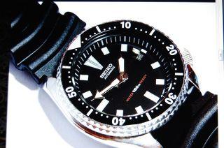 Seiko Diver Automatic 7002 - 700 A,  Taucheruhr Bild