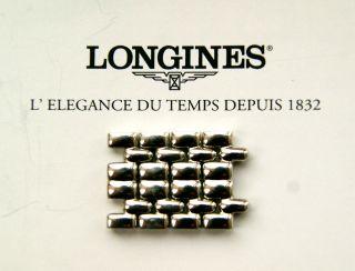 Longines 4 StÜck Hochwertige Edelstahl Glieder Teile FÜr Armband 18 Mm Bild
