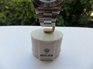 Rolex - Uhrenständer Mamorfuss Bild
