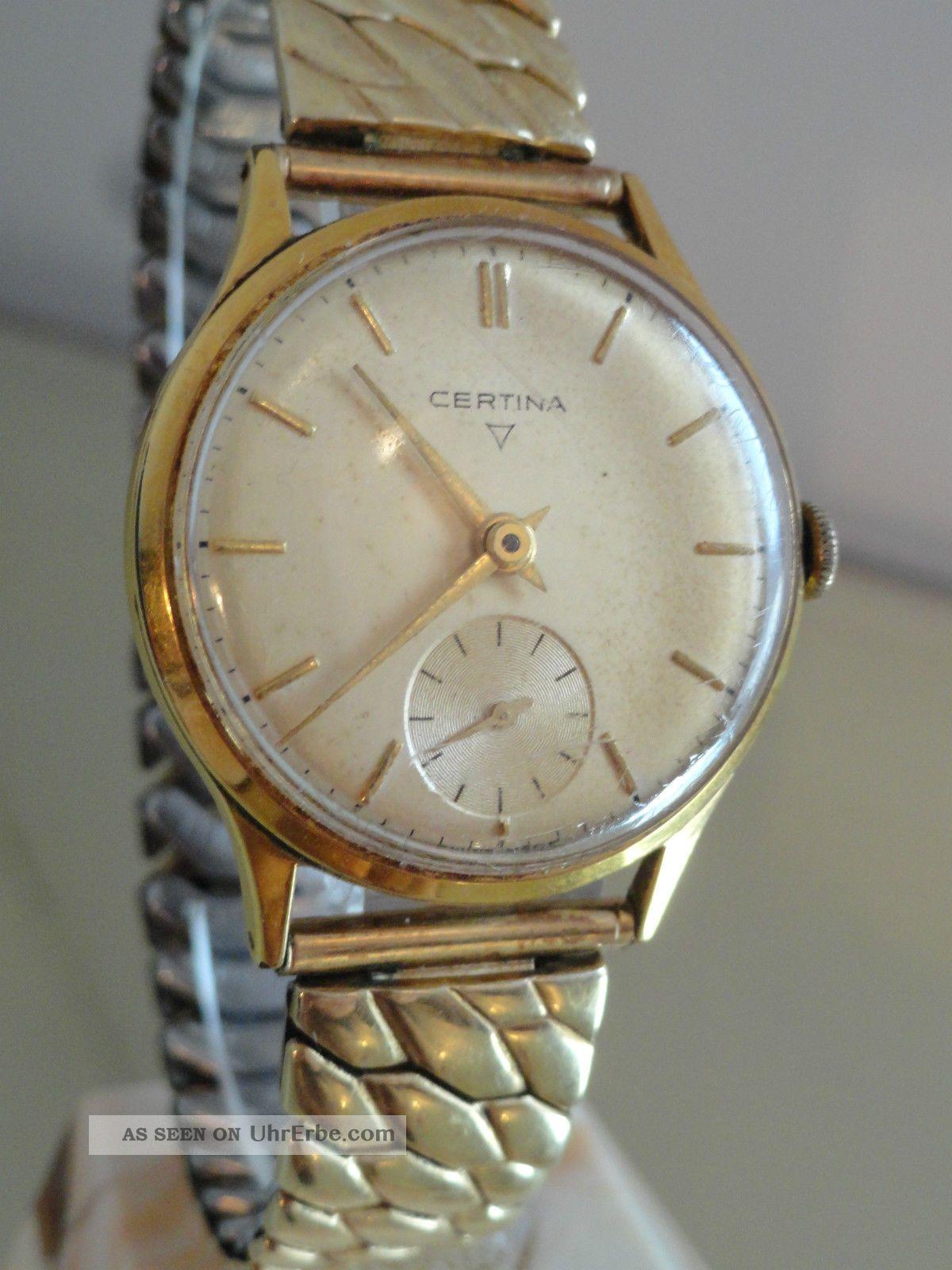 Seltene Certina Armbanduhr,  Mechanisch Armbanduhren Bild