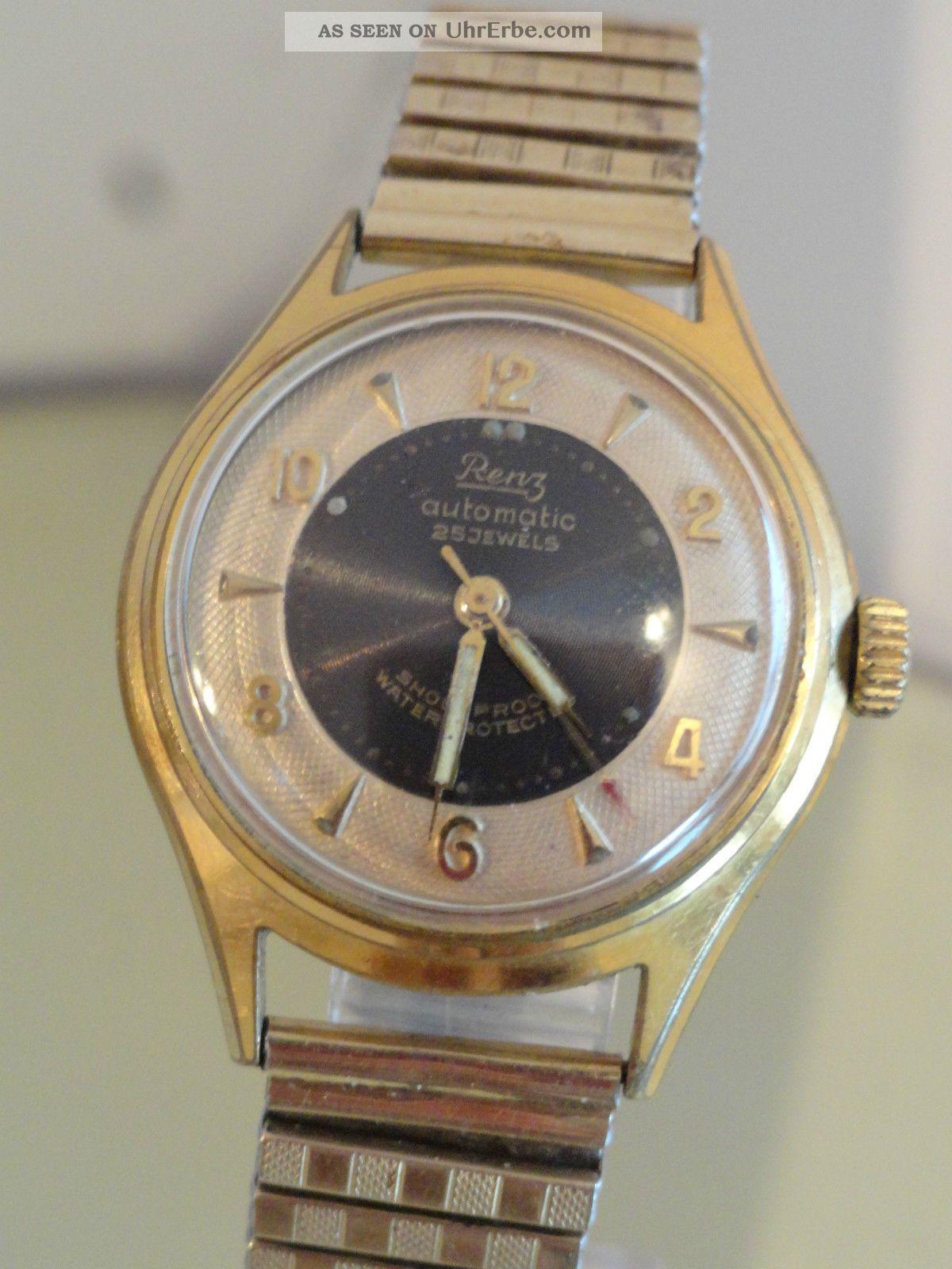 Seltene Renz Armbanduhr,  Automatic Armbanduhren Bild