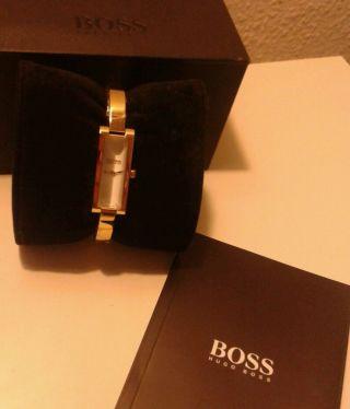 Hugo Boss Woman Uhr Spangenuhr Gold - Bild