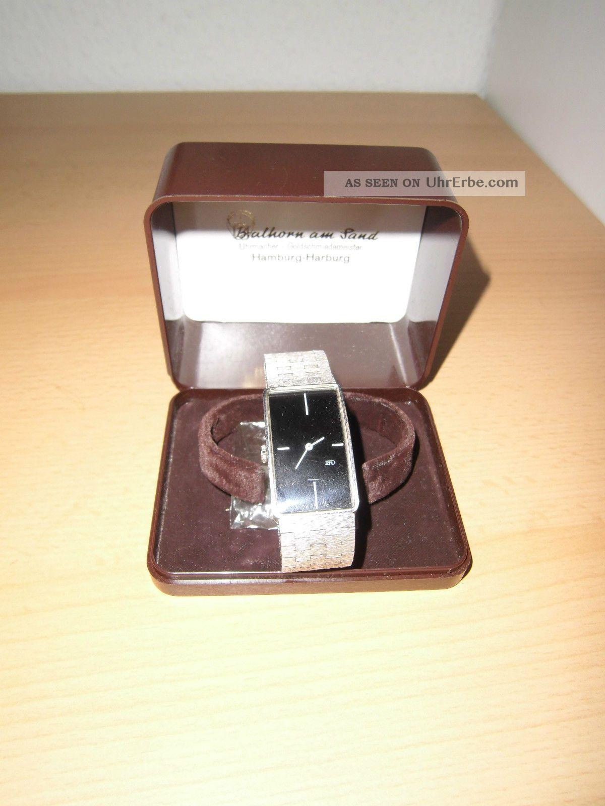 Cito Armbanduhr 925 Weißgold Armbanduhren Bild