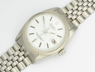 Rolex Datejust Weissgold/steel White 1973 Ref.  1601 Dream Bild