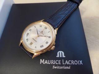 Feine Maurice Lacroix Automatik Ref.  68640,  Neuwertig Mit Orig.  Box/papiere Bild
