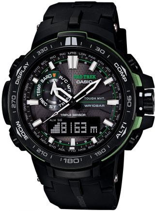 Casio Pro Trek Prw - 6000y - 1ajf Limited Japan Bild