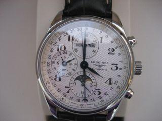 Longines Chronograf,  Heritage,  Superzustand,  Kaufdatum 2012 Bild