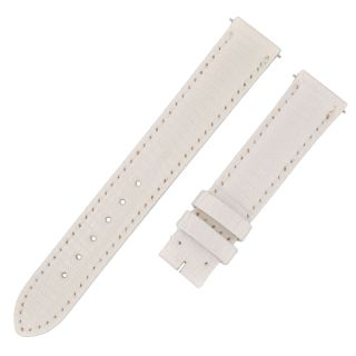 Armbanduhr David Yurman 15 - 14 Weiß Glänzend Leder Band Bild