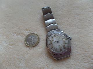 Feine Vintage Tudor Handaufzug Mit Metallband,  Verschraubt,  Shock Resisting Bild