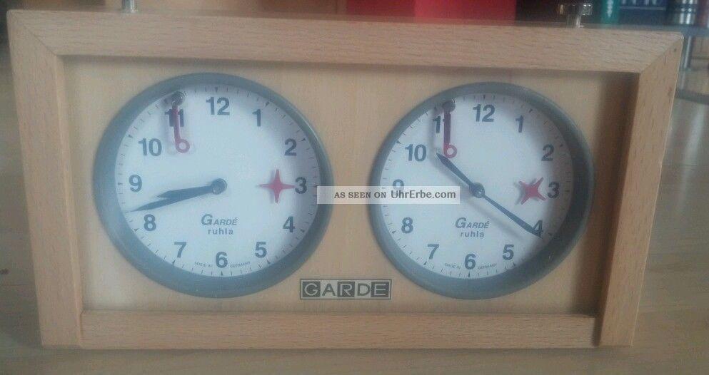 Garde Ruhla Schachuhr Armbanduhren Bild