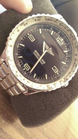Breitling Chronospace Armbanduhr Mit Box Bild