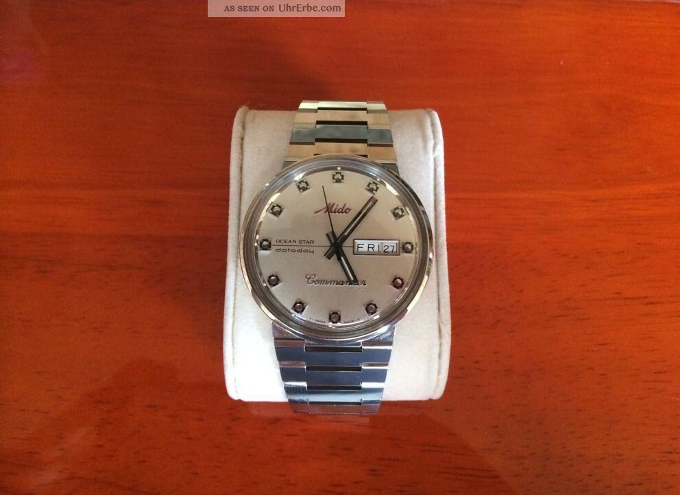 Mido Commander Datoday Automatik Armbanduhren Bild