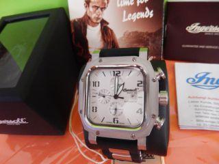 Ingersoll Automatik Uhr Analog Sierra In 1625sl.  Große 46x46mm. Bild