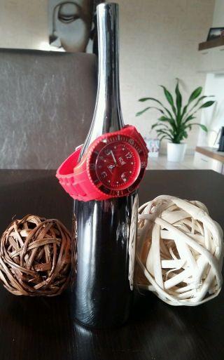 Ice Watch In Rot - Wie Bild
