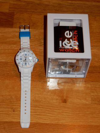 Ice Watch Armbanduhr - Ice Watch Sp.  Si.  Web.  U.  S.  12 - Weiß - Unisex Bild