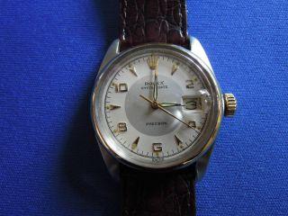 Rolex Oysterdate Aus Den 50/60er Jahren,  Extrem Seltenes Zifferblatt Bild