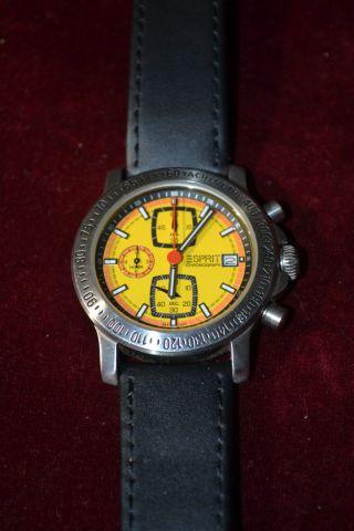 Armbanduhr Esprit Gelbes Ziffernblatt Bild