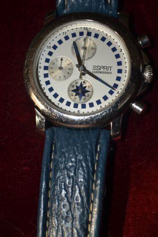 Armbanduhr Esprit Weißes Ziffernblatt Bild