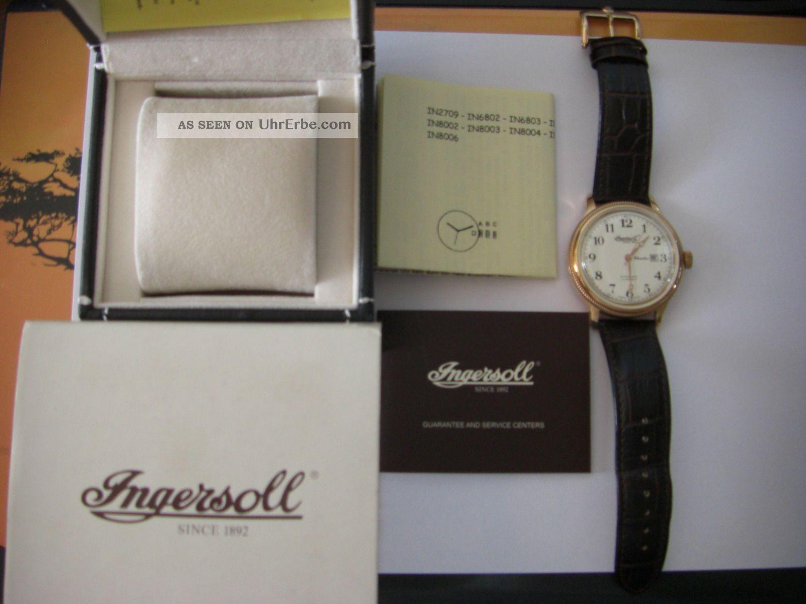 Ingersoll Armbanduhr Charles Armbanduhren Bild