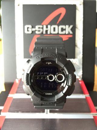 Casio G - Shock Nigel Sylvester,  Schwarz,  Limited, Bild