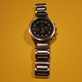 Poljot Tachymeter Chronograph 3133 Aviator Bild