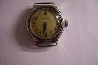 Sammlerstück Lesen Alpina - Armbanduhr Kaliber 9991 - 935 Er Silber Bild