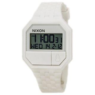 Nixon A169100 Unisex The Re - Run Weiß Gummiarmband Alarm Uhr Bild