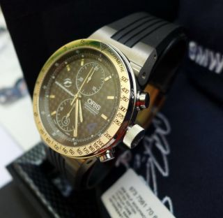 Oris Williams F1 Team Chronograph Titanium Ralf Schumacher Limited Edition Bild