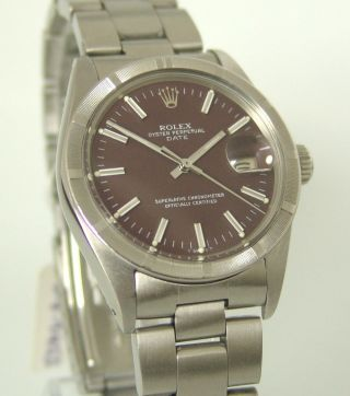 Rolex Oyster Perpetual Date 1979,  Indexlünette,  Automatik,  Oysterband,  Ref:1501 Bild