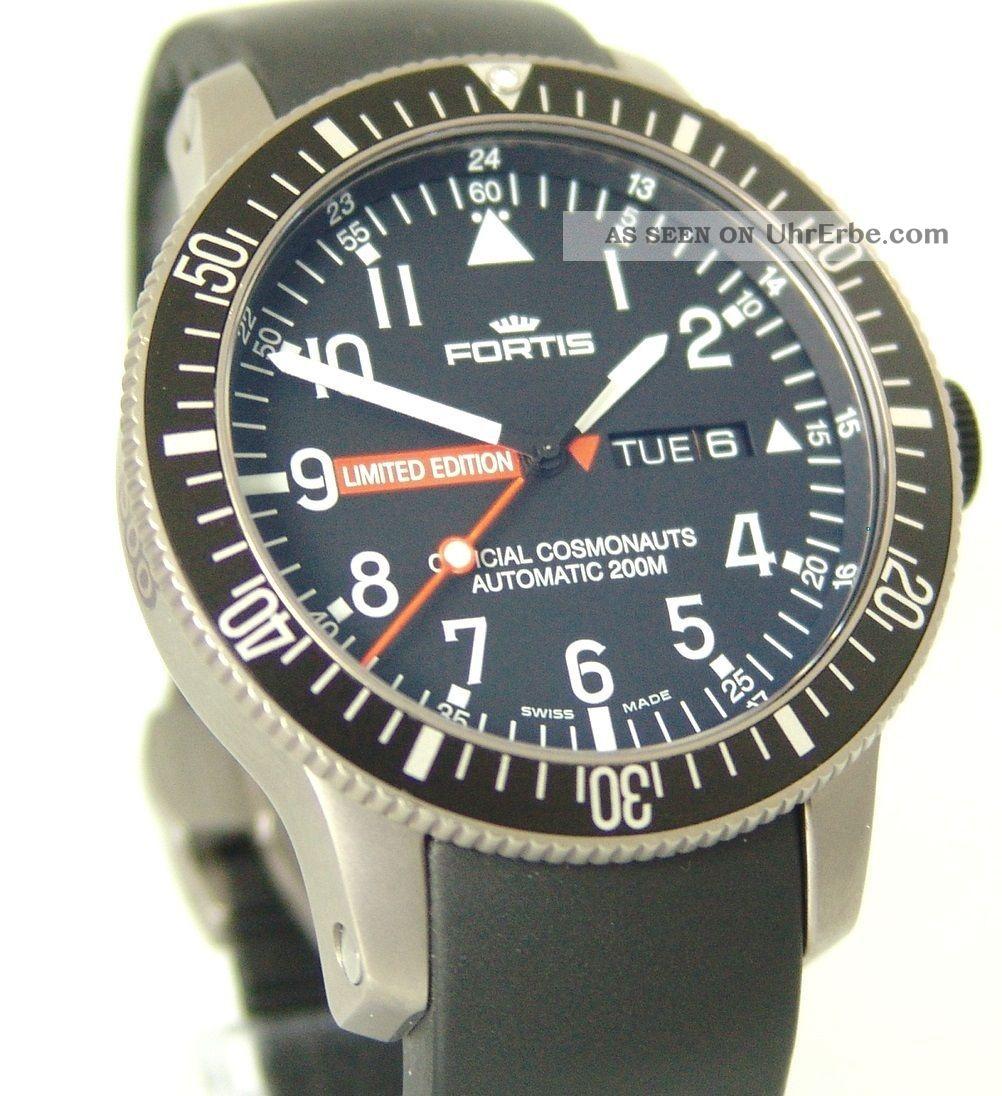 Fortis B - 42 Limited Edition Mars 500 Automatik,  Box,  Papiere,  Top,  Ref: 65827.  81.  K Armbanduhren Bild