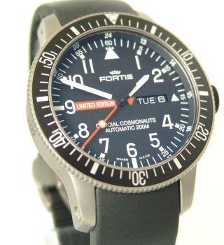 Fortis B - 42 Limited Edition Mars 500 Automatik,  Box,  Papiere,  Top,  Ref: 65827.  81.  K Bild