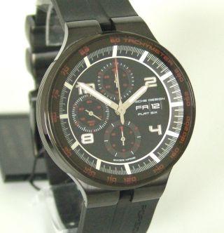 Porsche Design Flat Six Chronograph,  Box,  Papiere,  Ref: An &,  3900€ Bild