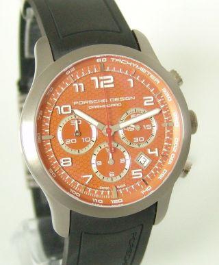 Porsche Design Dashboard Chronograph,  Box,  Papiere,  Ref:661211841190/3 Bild