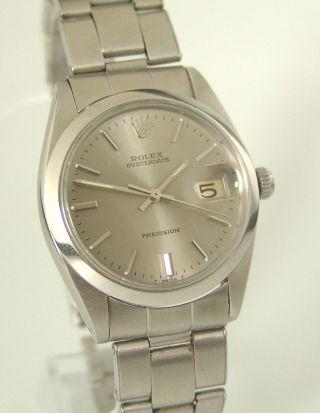 Rolex Oysterdate Precision,  Ref: 6694,  Baujahr: 1965,  Oysterband,  Handaufzug, Bild