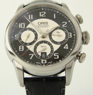 Oris Raid Chronograph Limited Edition,  500 StÜck,  Ungetragen,  Box,  Papiere Bild