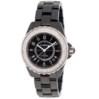 Armband Chanel J12 H0685 38 Mm Keramik Diamanten Automatik Unisex Bild
