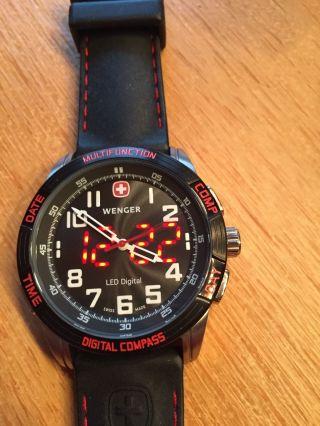 Orig.  Wenger Uhr Led,  Kompass,  Neupreis 349,  - Bild