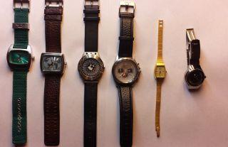 Uhren Sammlung Diesel,  Fossil,  Citizen,  Firebird,  Rolf Cremer Bild