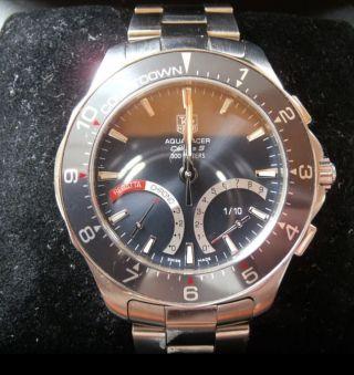 Chronograph Tagheuer Aquaracer Calibre S Bild