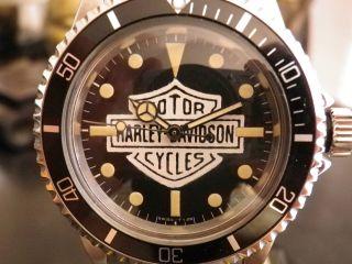 Rolex Submariner 5513,  Harley Davidson Personalisiert,  Einzigartig Bild