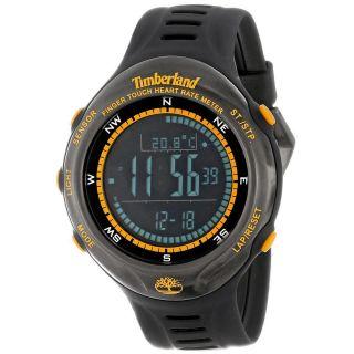 Timberland Digital Uhr Tbl - 13386jpbu - 02 Unisex Schwarz Gummi Armband Wecker Bild