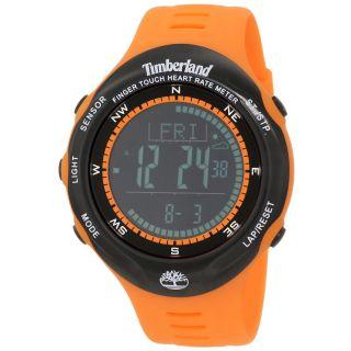 Uhr Stoppuhr Timberland Tbl - 13386jpob - 02 Unisex Digital Schwarz Gummi Armband Bild