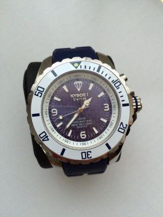 Kyboe Quartz - Uhr Giant 48,  Dunkelblau,  In Originalverpackung,  Unisex Bild